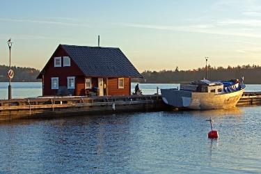 Houseboat Vaxholm