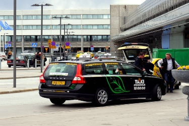 Taxi, Stockholm airport