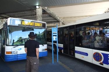Nice, Airport bus