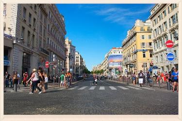 La Canebiére de Marseille