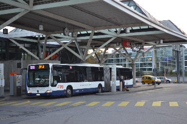 Geneva airport bus